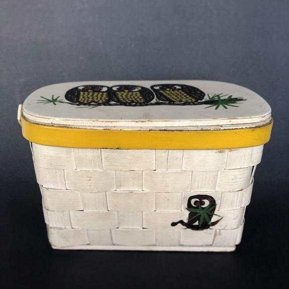 Caro Nan Handbags - Caro Nan Owl Purse/ Owl Basket/ Mid Century Purse
